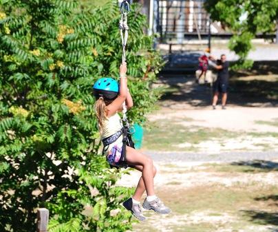 Empresa de Turismo Activo Camping Las Nogueras de Nerpio - Tirolina