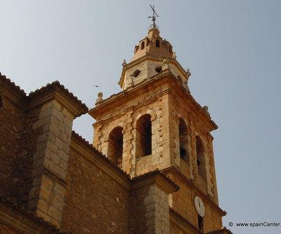 Iglesia de San Juan Bautista en Casas de Ibáñez