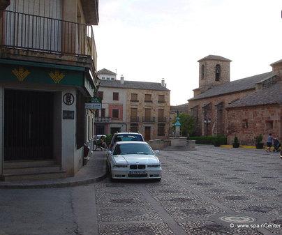 Iglesia de San Sebastián en Villapalacios