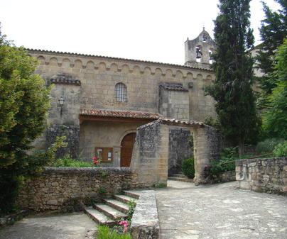 Monasterio de Santa María de Sistal en Olmeda de Cobeta