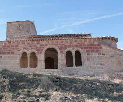 Iglesia Jodra del Pinar en Saúca