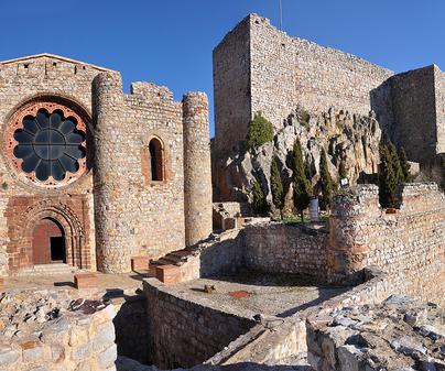 Ruta Ñ- Panorámica de Castillo en Calada de Calatrava