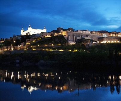 Palacio de Congresos de Toledo El Greco - Vista nocturna de Toledo