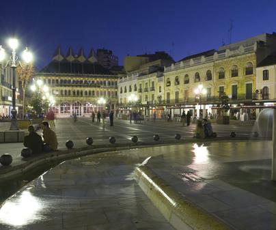 Pabellón de Ferias y Congresos de Ciudad Real - Plaza Mayor