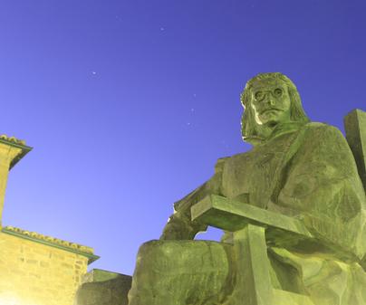 Estatua en Torre de Juan Abad