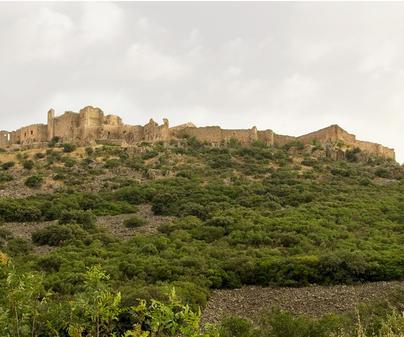 Parque Arqueológico Sacro Convento y Castillo de Calatrava la Nueva - Vista general