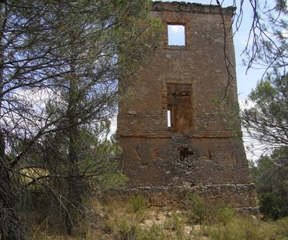 Torre telégrafo - Iniesta