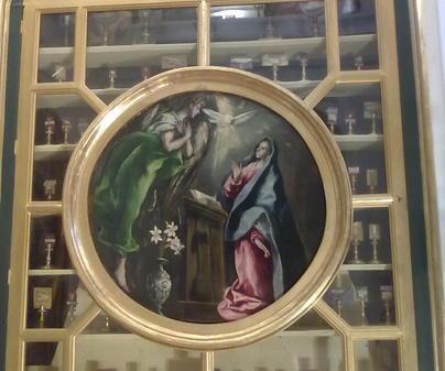 Illescas - La Anunciación de El Greco
