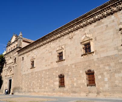 Museo de Santa Cruz, fachada