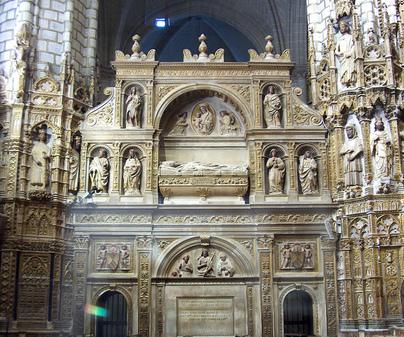 Catedral de Toledo sepulcro