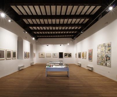 Sala de Exposición 2 Museo de Obra Gráfica de San Clemente