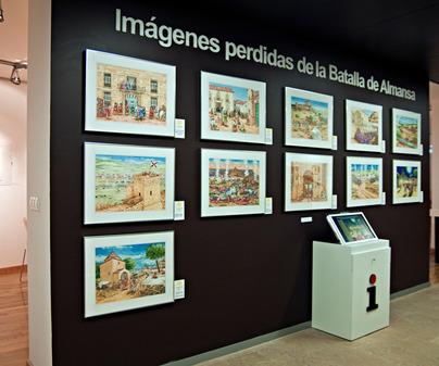 Exposición Imágenes Perdidas Museo de la Batalla de Almansa