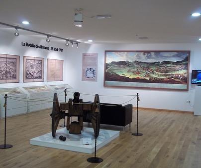 Sala 1 Museo de la Batalla de Almansa