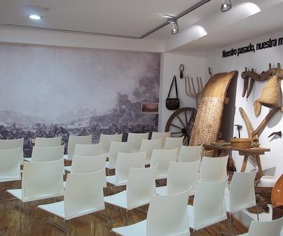 Sala audiovisual Museo de la Batalla de Almansa