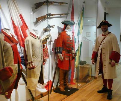 Uniformes Museo de la Batalla de Almansa