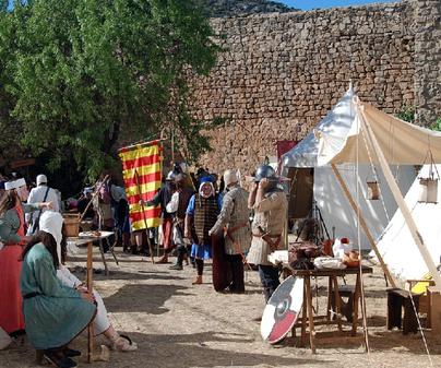 Campamento La Alvarada Medieval Cañete