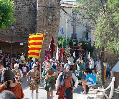 Pasacalles La Alvarada Medieval Cañete