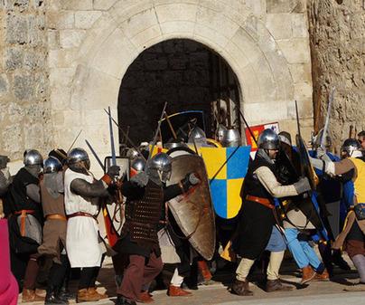 Recreación La Alvarada Medieval Cañete