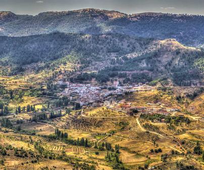 La Molata y los Batanes. Valle