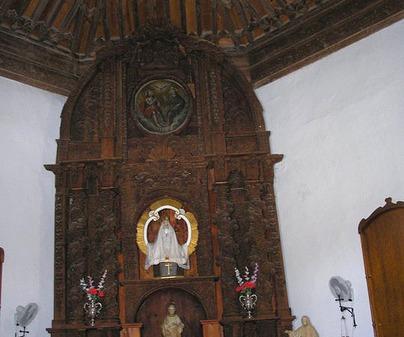 ERMITA DE SAN PEDRO EN LA MATA. ALTAR MAYOR