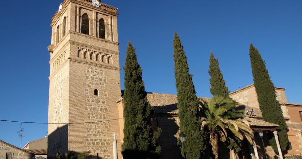 Iglesia mudéjar de San Juan Bautista en Gálvez