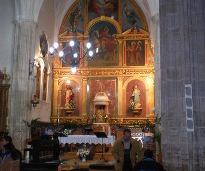 Iglesia de Lillo. Altar Mayor
