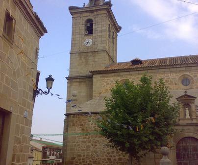 Iglesia de Cuerva. Torre