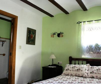 Casa Lucinio habitación verde