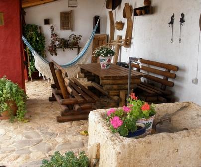 Casa Lucinio porche cubierto
