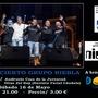 Concierto Grupo Niebla a beneficio Down Toledo.