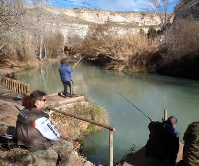 El Talave. Pescadores
