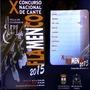 X Concurso Nacional de Cante Flamenco 2015