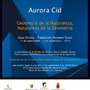 Exposición Aurora Cid en Casa Zavala - Fundación Antonio Saura
