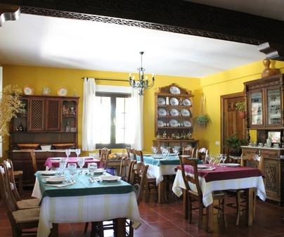 Casa Rural Los Laureles comedor