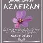 IX Jornadas del Azafrán