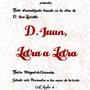 Don Juan Letra a Letra