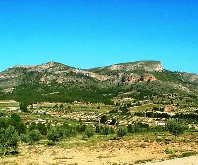 Cerro de Rala desde Jartos
