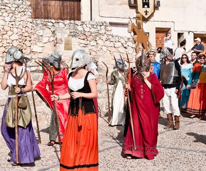 Hita medieval festival teatro