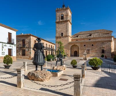 El Toboso Cervantes Don Quijote