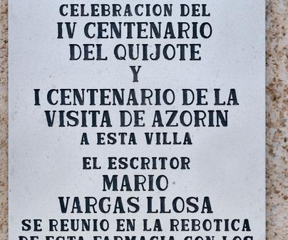 Argamasilla de Alba Cervantes Don Quijote