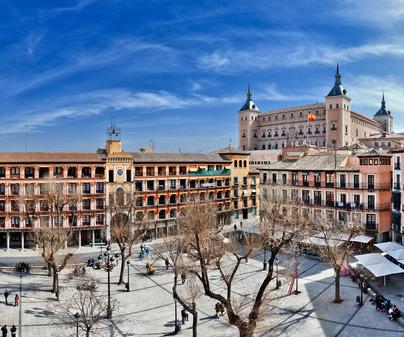 Zocodover Toledo Cervantes Don Quijote