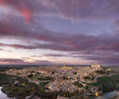 Toledo vista panoramica Cervantes Don Quijote