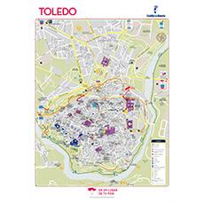 Mapa Turístico TOLEDO