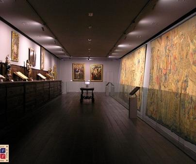 museo tapices pastrana interior