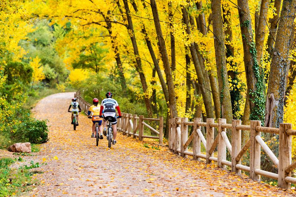 Bici de montaña por Cuenca