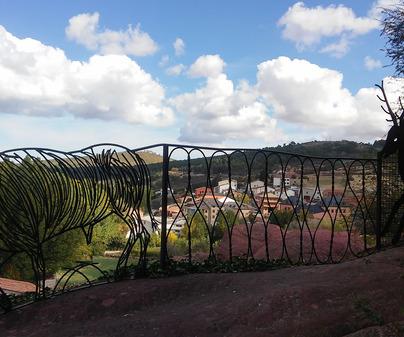 Checa. Mirador del Barranco.