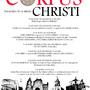 III SEMANA CULTURAL CORPUS CHRISTI