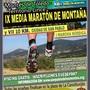 IX MEDIA MARATON DE MONTAÑA, 10KM CIUDAD DE SAN PABLO Y IX MINI MARATON.