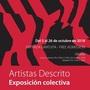 Artistas Descrito. Exposición colectiva.