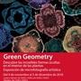 "Exposición ""Microfotografía artística"", Green Geometry."